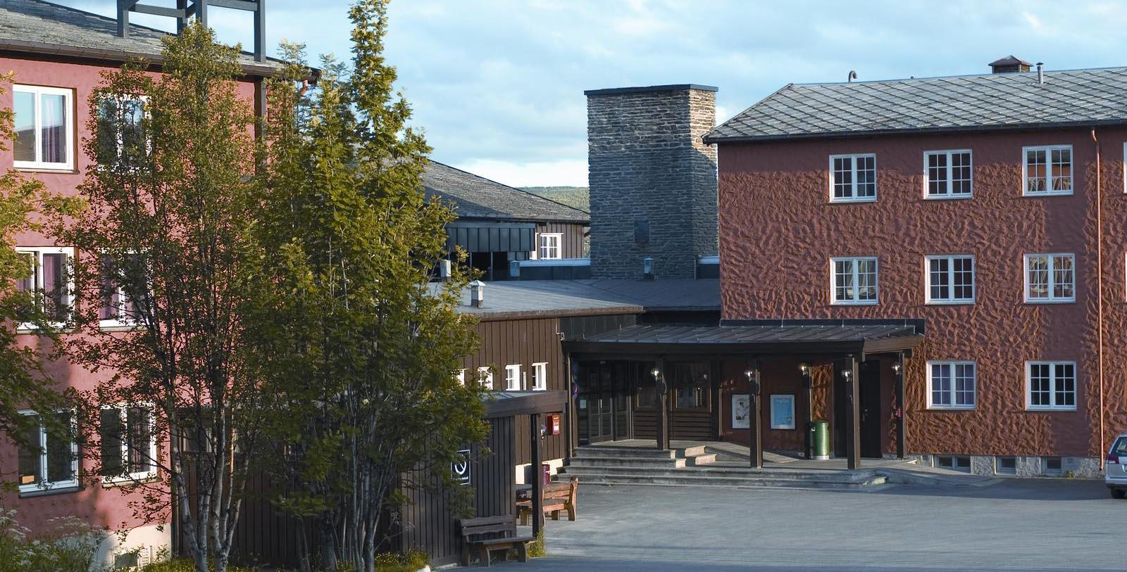 Image of Hotel Exterior Roros Hotel, 1951, Member of Historic Hotels Worldwide, in Roros, Norway, Special Offers, Discounted Rates, Families, Romantic Escape, Honeymoons, Anniversaries, Reunions