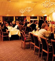 Dining at      Roros Hotel  in Roros