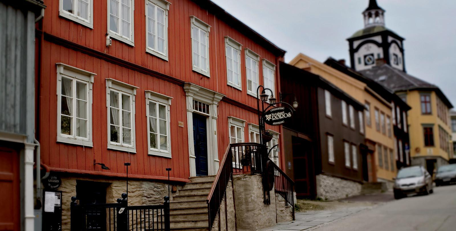 Image of Hotel Exterior Vertshuset Røros, 1844, Member of Historic Hotels Worldwide, in Røros, Norway, Special Offers, Discounted Rates, Families, Romantic Escape, Honeymoons, Anniversaries, Reunions