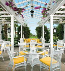 Dining at      The Gasparilla Inn & Club  in Boca Grande