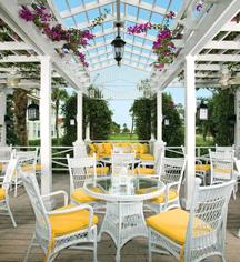 Dining at      The Gasparilla Inn & Club  in Boca Grande