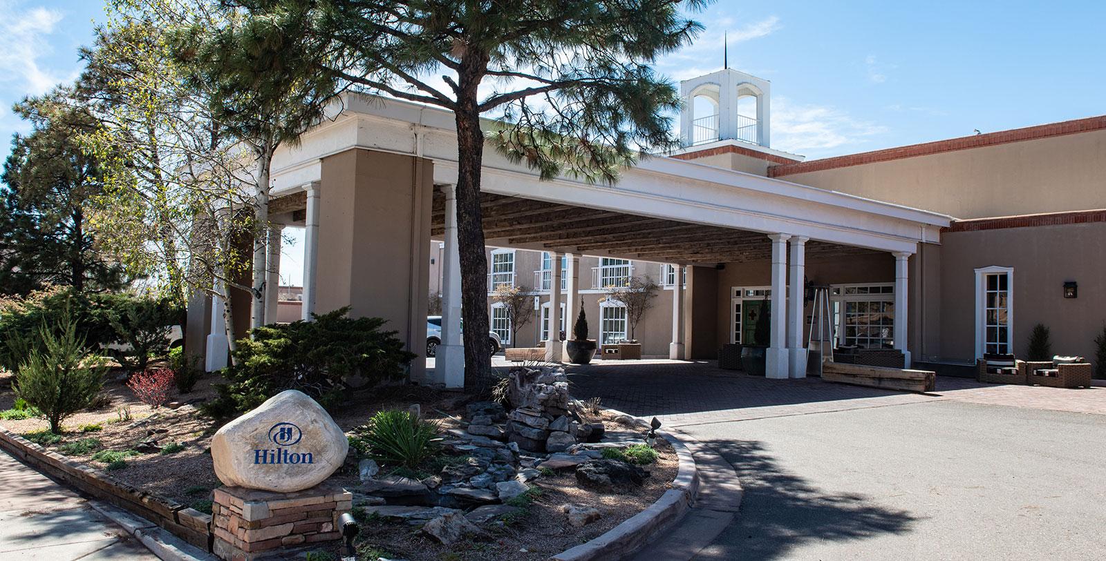 Image of Hotel Exterior, Hilton Santa Fe Historic Plaza in Santa Fe, New Mexico, 1625, Member of Historic Hotels of America, Overview