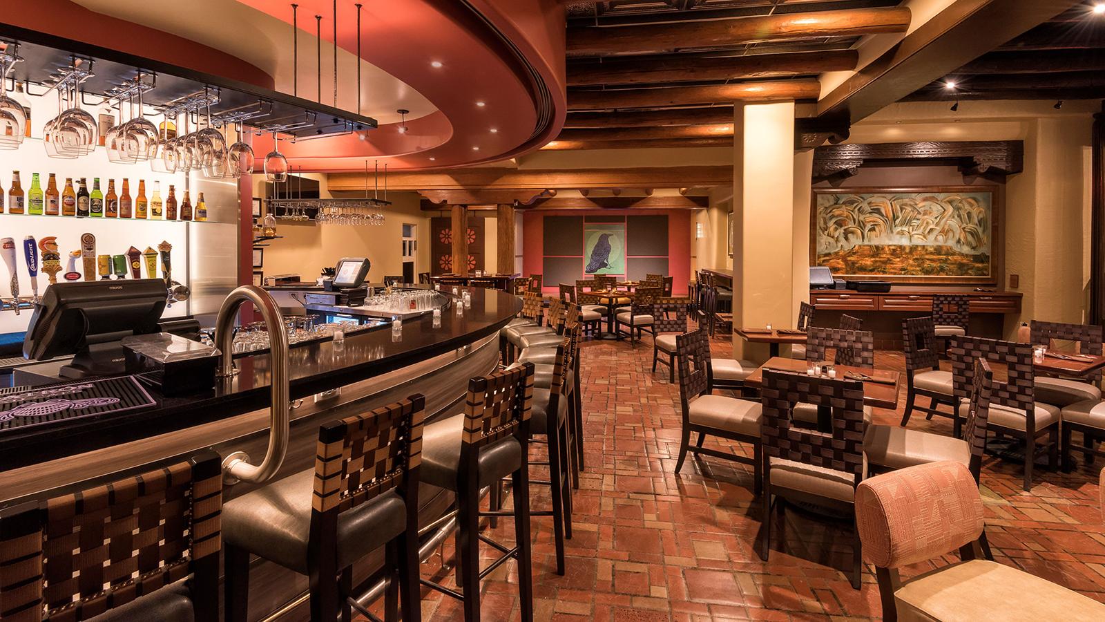 Image of La Plazuela Restaurant, La Fonda in Santa Fe, New Mexico, 1922, Member of Historic Hotels of America, Taste