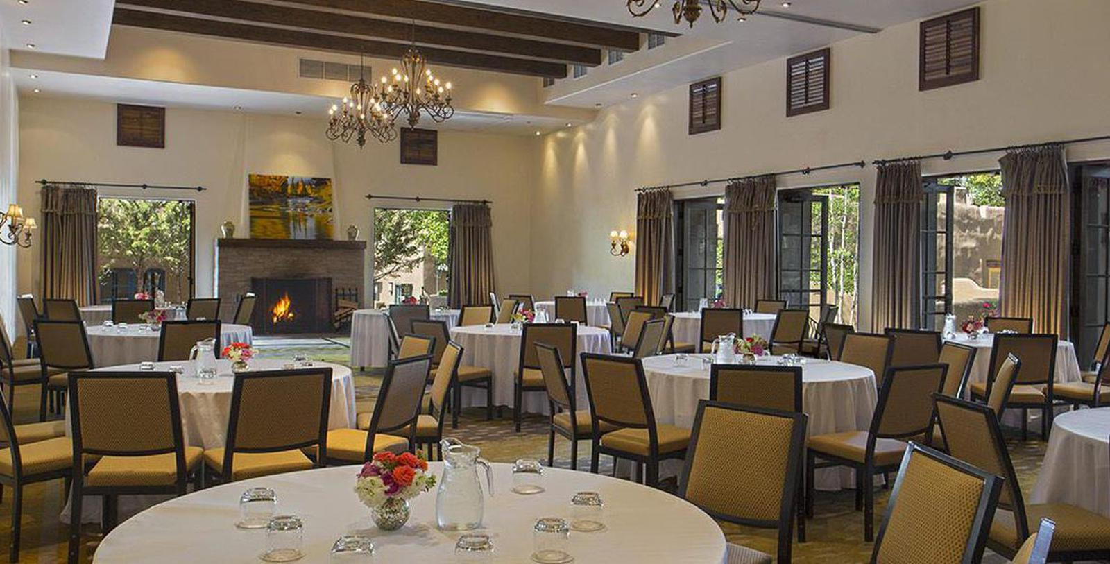 Image of event space La Posada de Santa Fe, 1882, A Tribute Portfolio Resort & Spa, Member of Historic Hotels of America, in Santa Fe, New Mexico, Experience