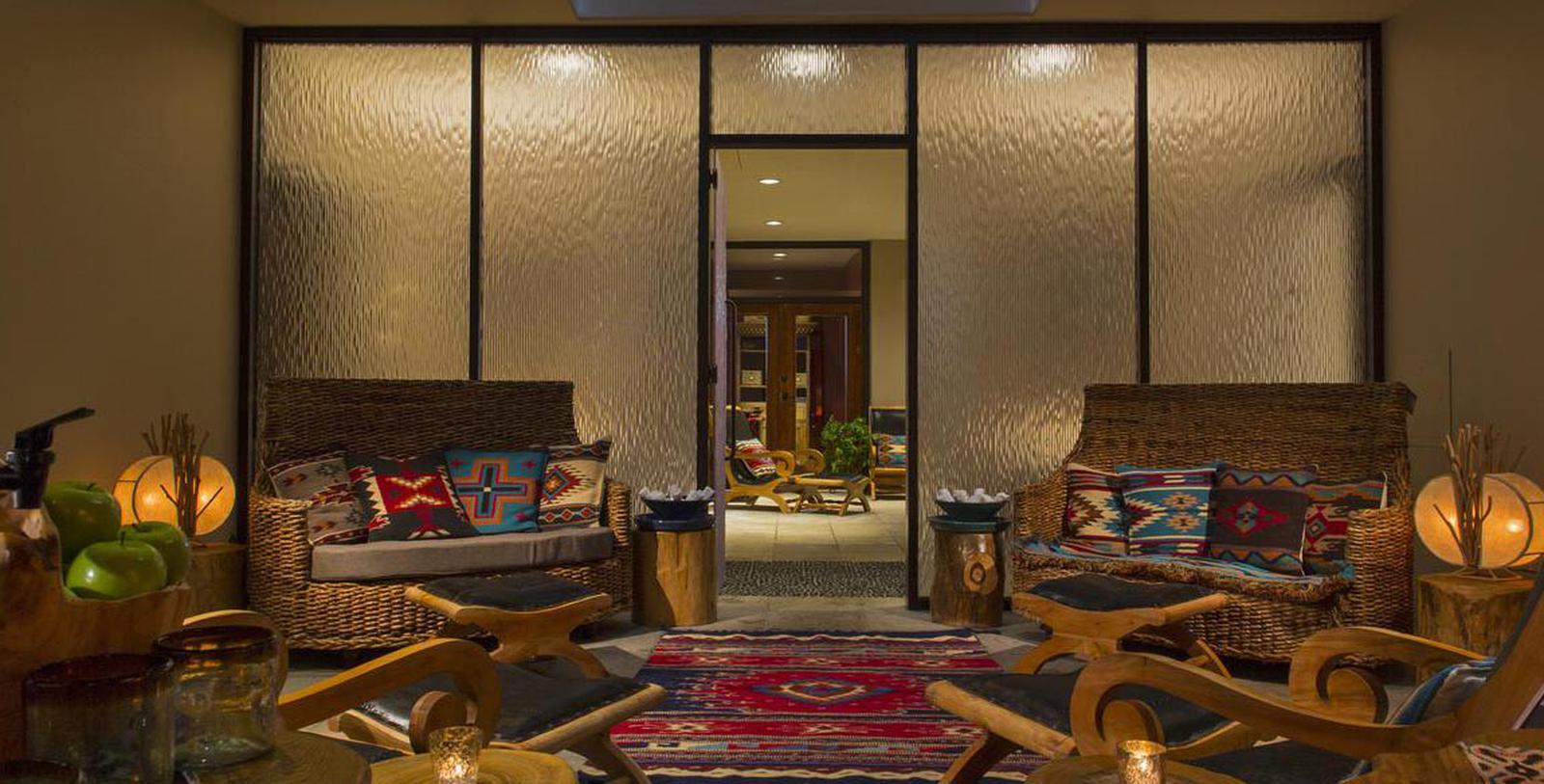 Image of Spa Lounge at La Posada de Santa Fe, A Tribute Portfolio Resort & Spa, 1882, Member of Historic Hotels of America, Santa Fe, New Mexico, Hot Deals