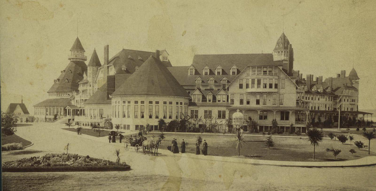 Image of Historic Exterior, Hotel del Coronado in Coronado, California, 1886, Member of Historic Hotels of America, Discover