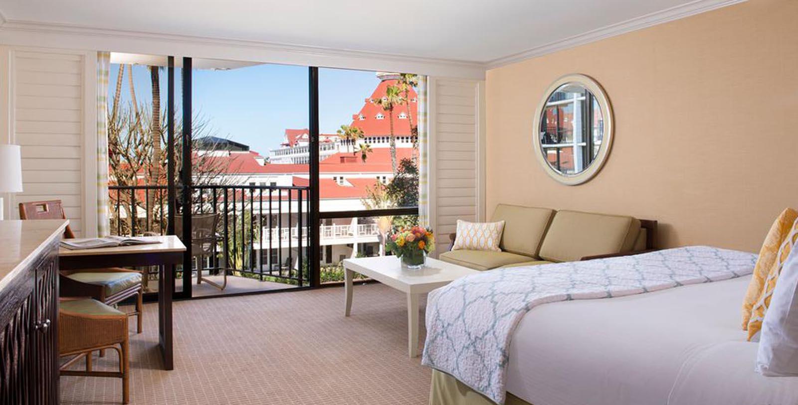 Image of Guestroom Interior, Hotel del Coronado in Coronado, California, 1886, Member of Historic Hotels of America, Accommodations