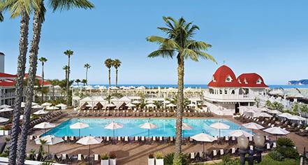 Activities:      Hotel del Coronado  in Coronado