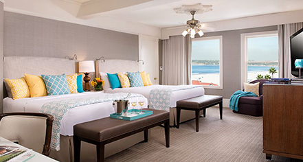 Accommodations:      Hotel del Coronado  in Coronado