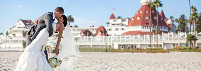 Weddings:      Hotel del Coronado  in Coronado