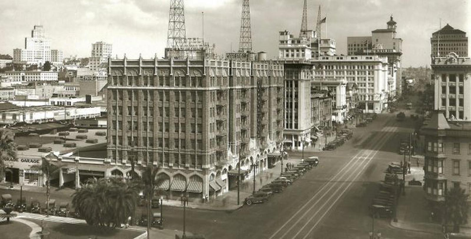 Historic Image of Exterior Sofia Hotel,1926, Member of Historic Hotels of America, San Diego, California, Discover