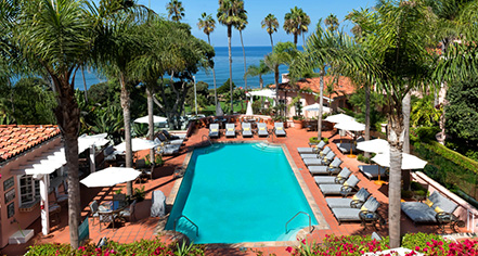 Activities:      La Valencia Hotel  in La Jolla/San Diego