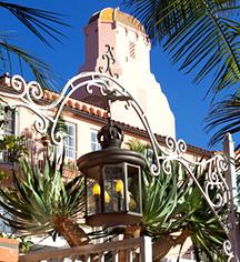 History:      La Valencia Hotel  in La Jolla/San Diego