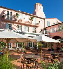 La Valencia Hotel  in La Jolla/San Diego