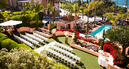 Weddings:      La Valencia Hotel  in La Jolla/San Diego