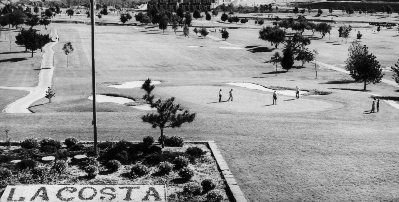 Historic Image of the Golf Course at Omni La Costa Resort & Spa