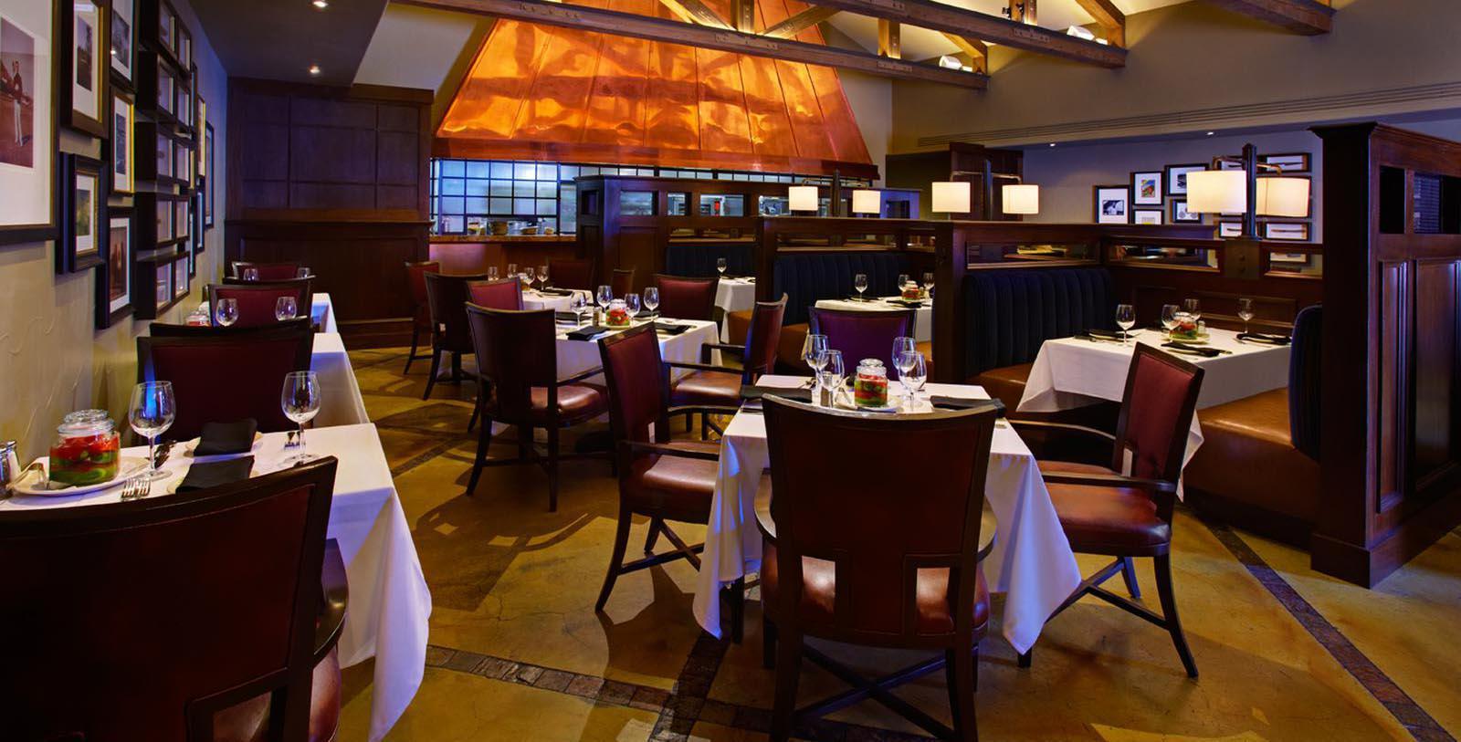 Image of Bob's Steak & Chop House, Omni La Costa Resort & Spa, Carlsbad, California, 1965, Member of Historic Hotels of America, Taste