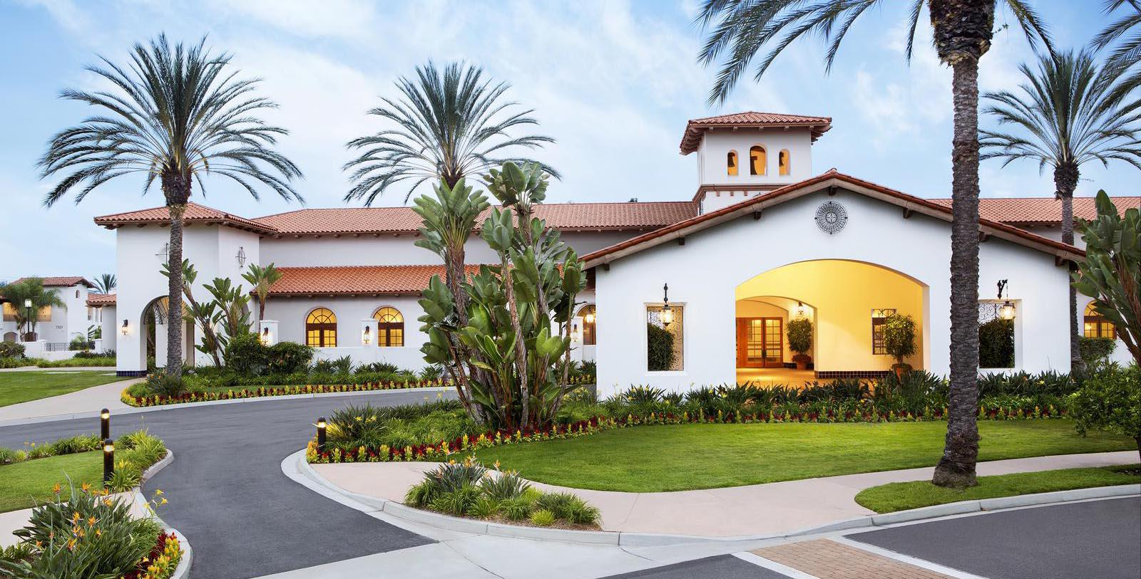 Image of Hotel Exterior & Entrance, Omni La Costa Resort & Spa, Carlsbad, California, 1965, Member of Historic Hotels of America, Discover
