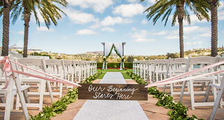 Weddings:      Omni La Costa Resort & Spa  in Carlsbad