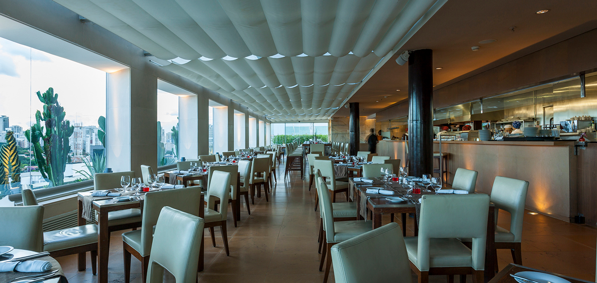 Dining:      Hotel Unique  in Sao Paulo