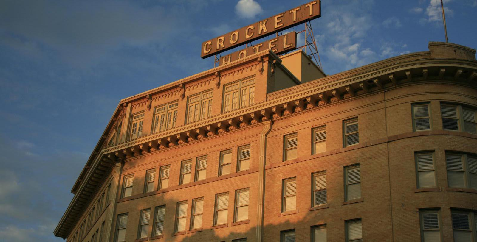 Image of Exterior The Crockett Hotel, 1909, Member of Historic Hotels of America, in San Antonio, Texas, Hot Deals