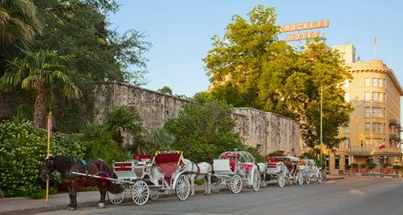 Local Attractions:      The Crockett Hotel  in San Antonio