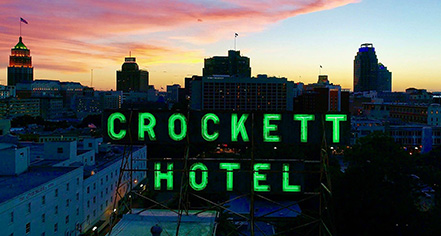 History:      The Crockett Hotel  in San Antonio