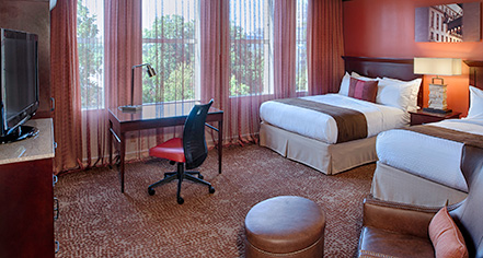 Accommodations:      The Emily Morgan San Antonio - a DoubleTree by Hilton Hotel  in San Antonio