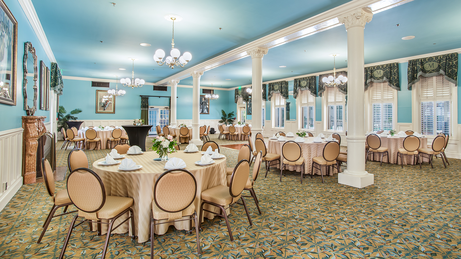 Image of Menger Grand Ballroom at The Menger Hotel, 1859, Member of Historic Hotels of America, in San Antonio, Texas, Special Occasions