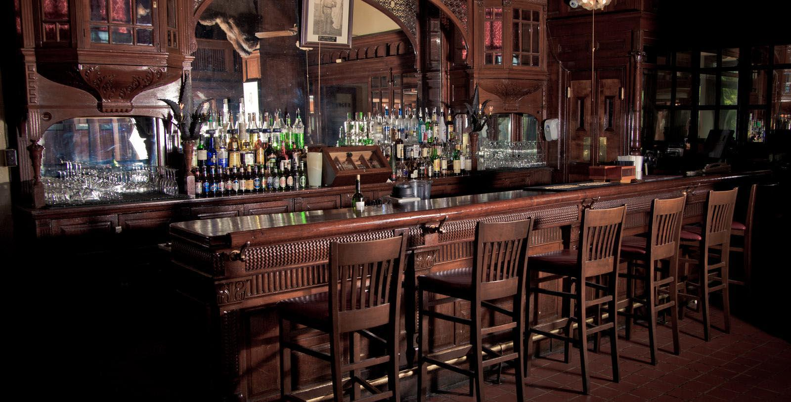 Image of the Menger Bar at The Menger Hotel, 1859, Member of Historic Hotels of America, in San Antonio, Texas, Taste