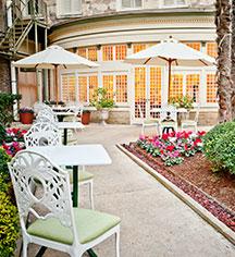 Activities:      The Menger Hotel  in San Antonio