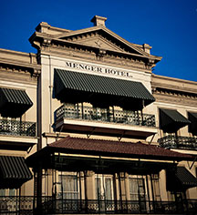 Event Calendar:      The Menger Hotel  in San Antonio