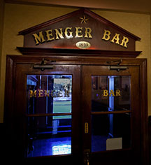 Dining at      The Menger Hotel  in San Antonio