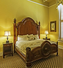 Accommodations:      The Menger Hotel  in San Antonio