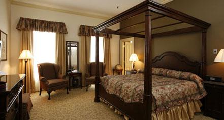 Accommodations:      River Street Inn  in Savannah