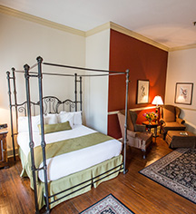 Accommodations:      River Street Inn  in Savannah
