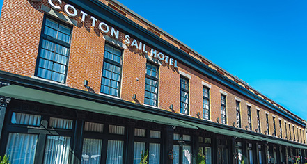 The Cotton Sail Hotel  in Savannah
