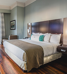 Accommodations:      The Cotton Sail Hotel  in Savannah