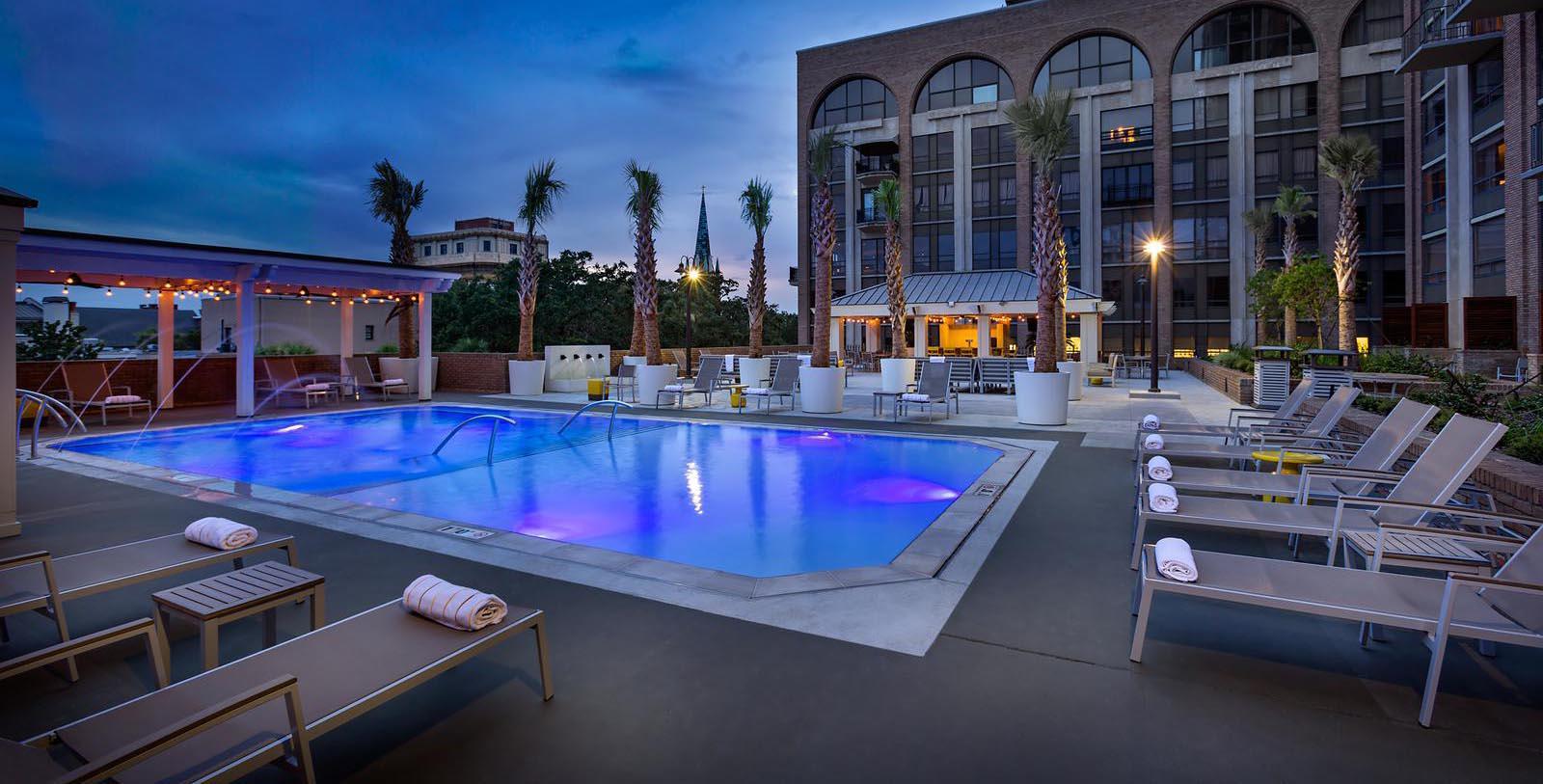 Image of Pool The DeSoto, 1890, Member of Historic Hotels of America, in Savannah, Georgia, Hot Deals