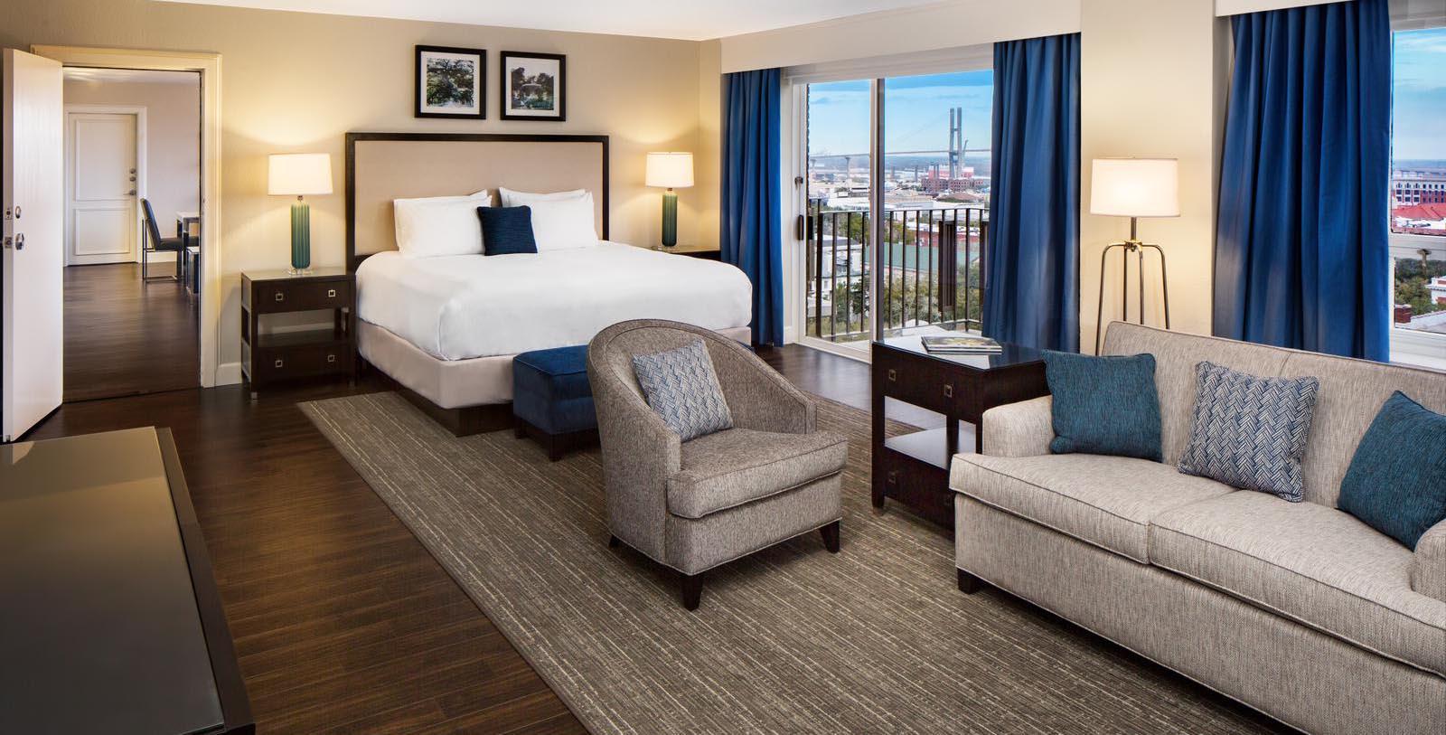 Image of Guestroom The DeSoto, 1890, Member of Historic Hotels of America, in Savannah, Georgia, Location