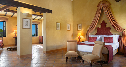 Accommodations:      La Bagnaia Golf & Spa Resort Siena, Curio Collection by Hilton  in Siena