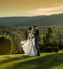 Weddings:      La Bagnaia Golf & Spa Resort Siena, Curio Collection by Hilton  in Siena