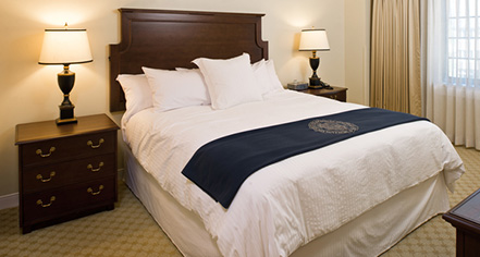 Accommodations:      Morris Inn at Notre Dame  in Notre Dame