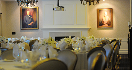 Weddings:      Morris Inn at Notre Dame  in Notre Dame