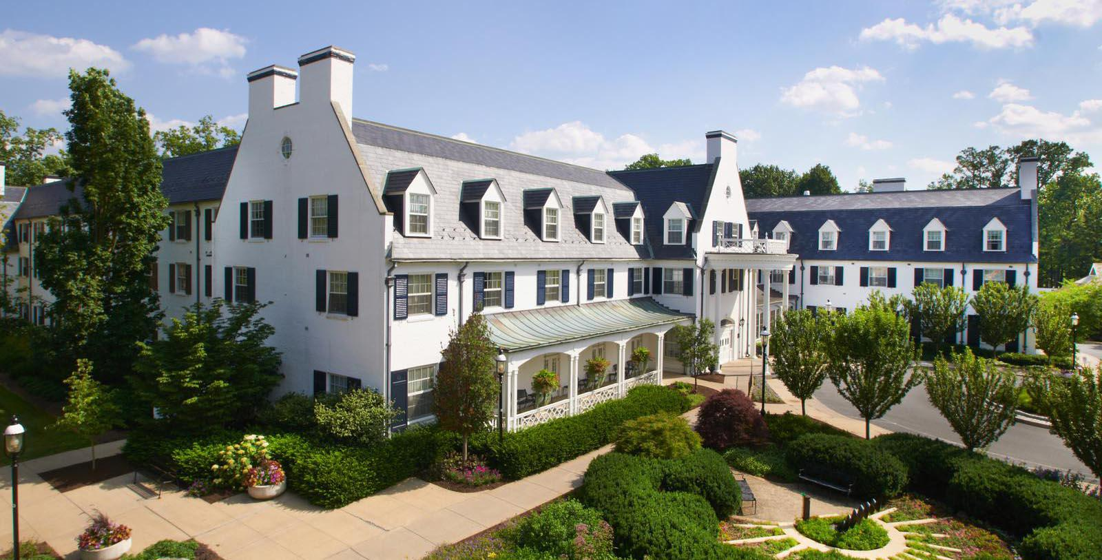 Image of Hotel Exterior The Nittany Lion Inn of the Pennsylvania State University, 1931, Member of Historic Hotels of America, in State College, Pennsylvania, Overview