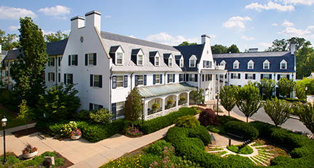 The Nittany Lion Inn of the Pennsylvania State University  in State College