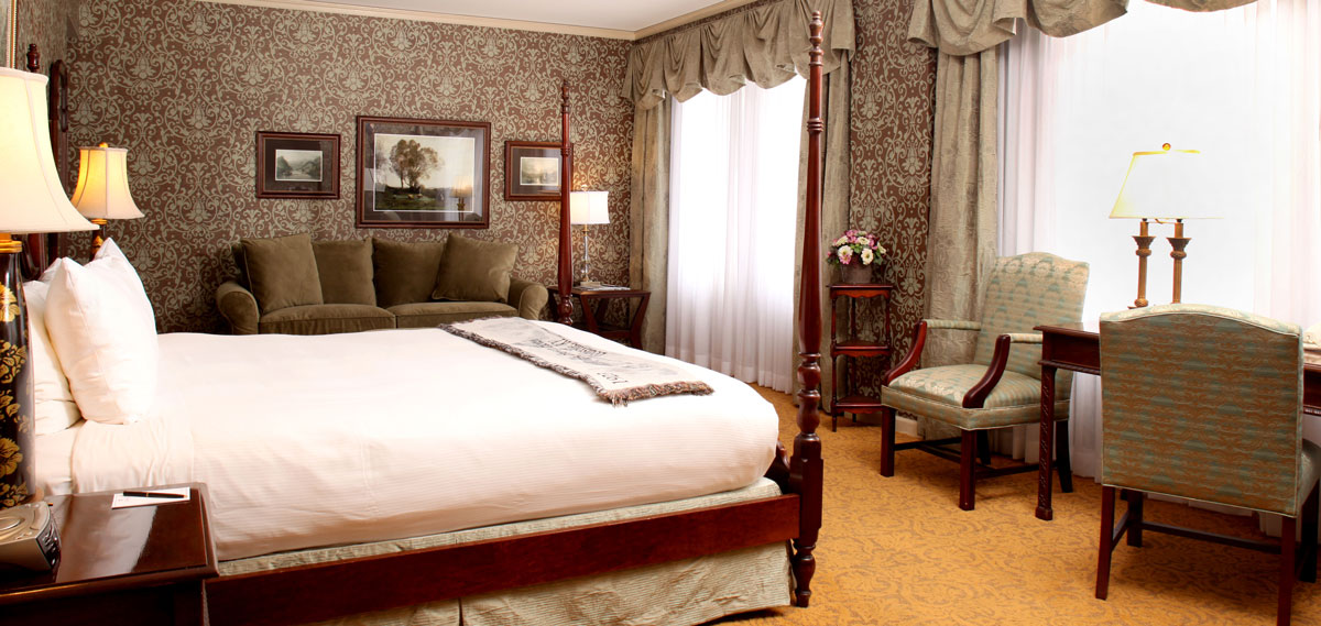 Accommodations:      The Brown Hotel  in Louisville