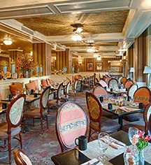 Dining at      The Brown Hotel  in Louisville
