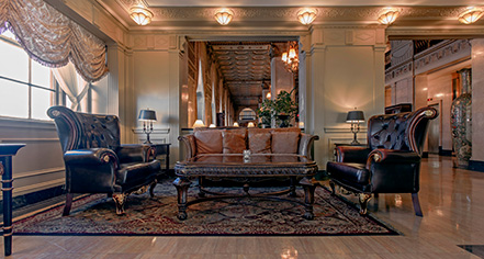 The Brown Hotel  in Louisville
