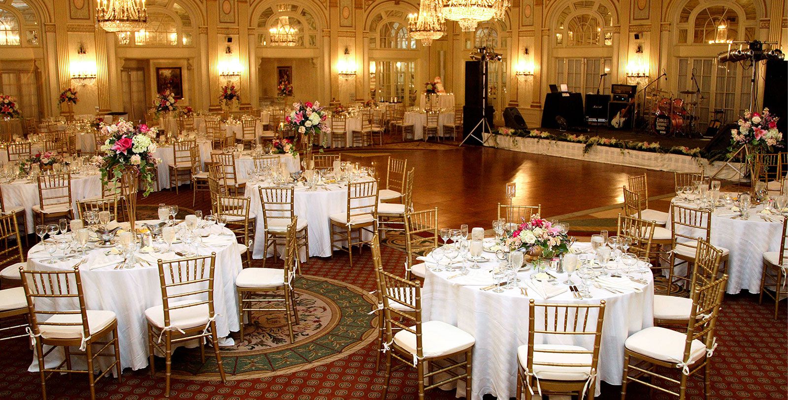 Image of Ballroom The Brown Hotel, 1923, Member of Historic Hotels of America, in Louisville, Kentucky, Special Occasions